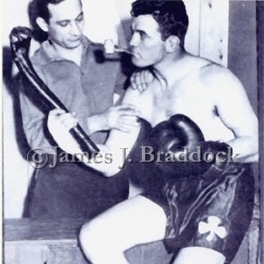 Doc. Robb and Jimmy Braddock