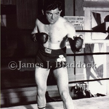James Braddock poses for in the press photo