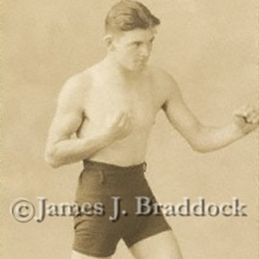 Jim Braddock's first publicity photo, 1926