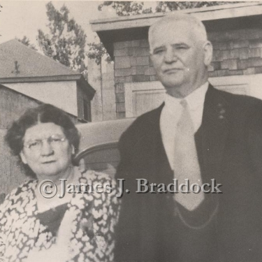 The Champ's parents, Elizabeth O'toole Braddock and Joseph Braddock.
