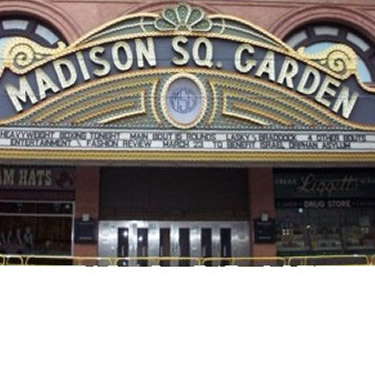 Madison Square Garden replica used in the movie, Cinderella Man. 2004.