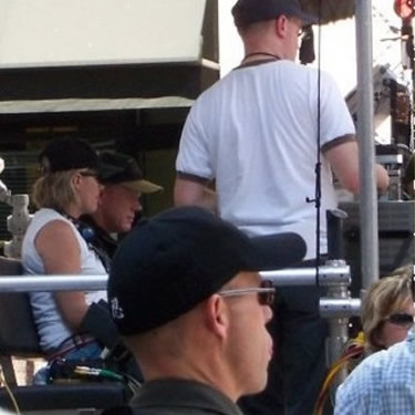 Ron Howard filming Cinderella Man. Toronto, Canada. 2004.